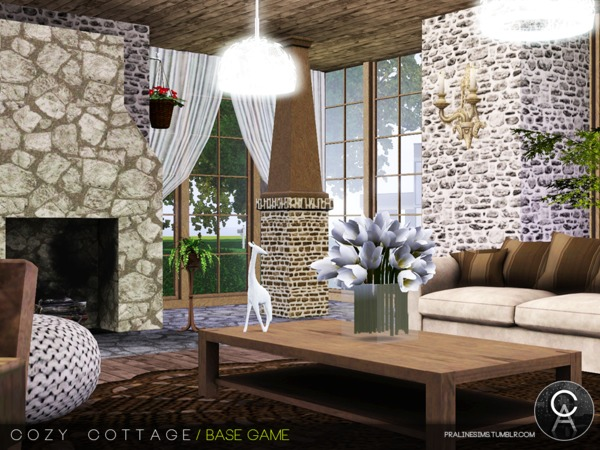 Cozy Cottage by Pralinesims