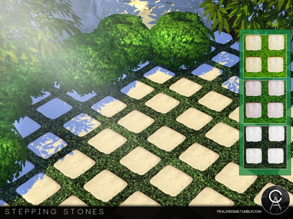 Stepping Stones by Pralinesims