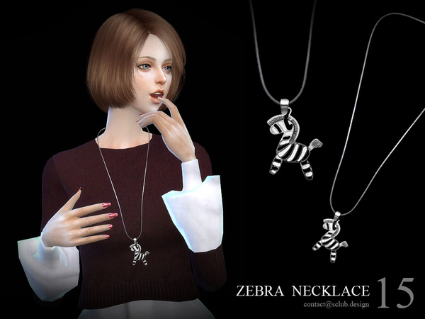 S-Club LL ts4 necklace N15