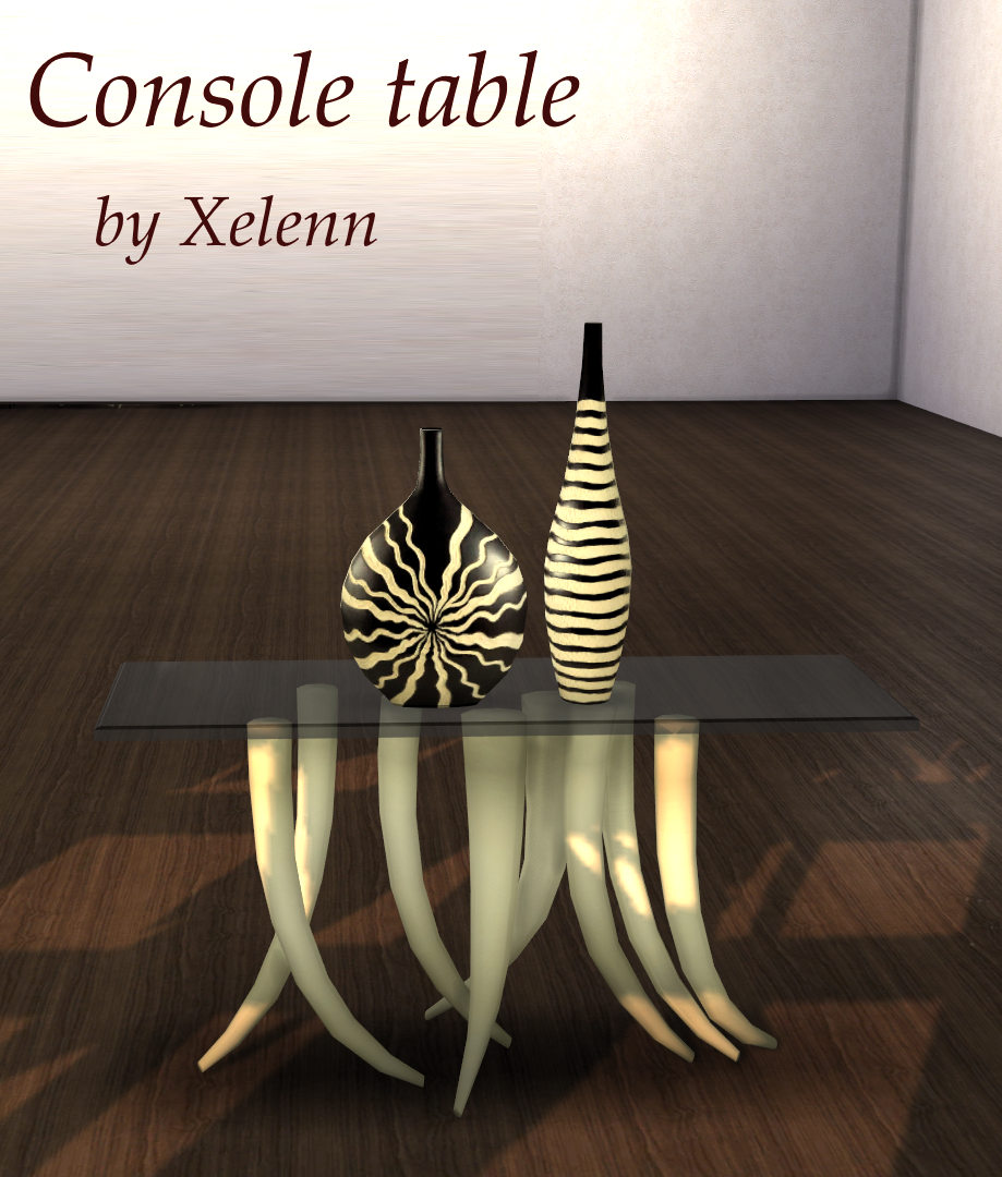 African Art and Craft Dining Set by Xelenn