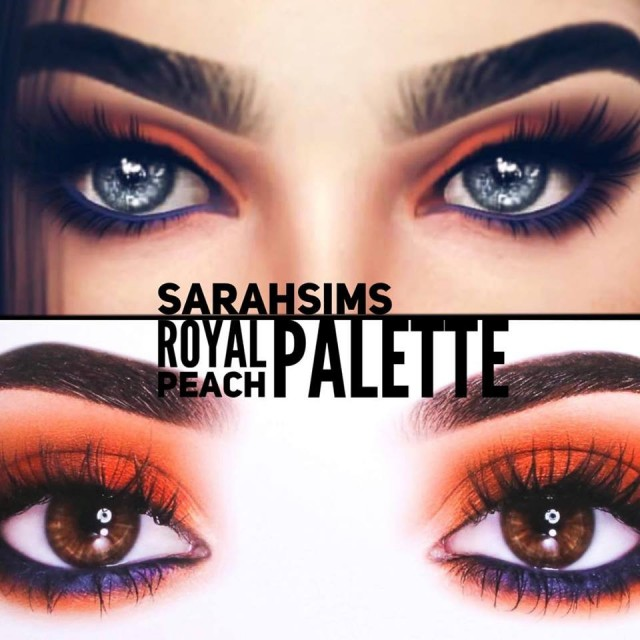 COMPLETE ROYAL PEACH PALETTE by Sarahsimsbeauty