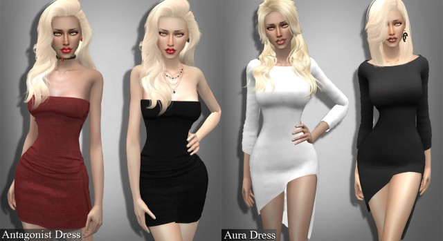 Antagonist and Aura Dress by Genius