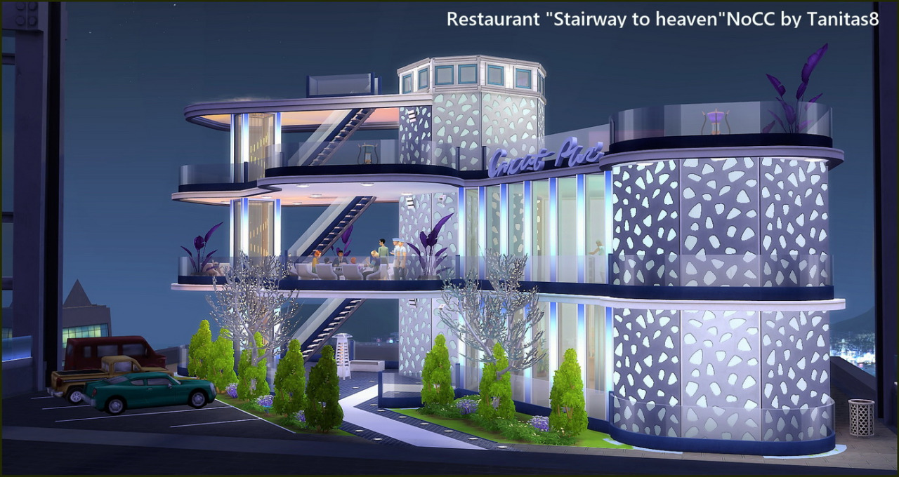 Stairway To Heaven Restaurant - No CC by Tanitas8