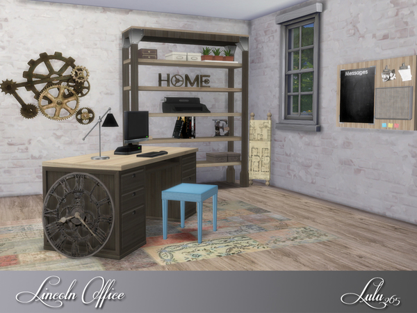 Lincoln Office by Lulu265