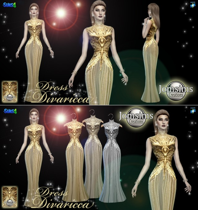 Divaricca dress by JomSims