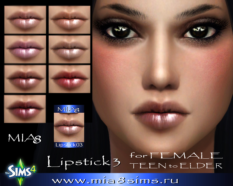 Lipstick3 for Female by Mia8