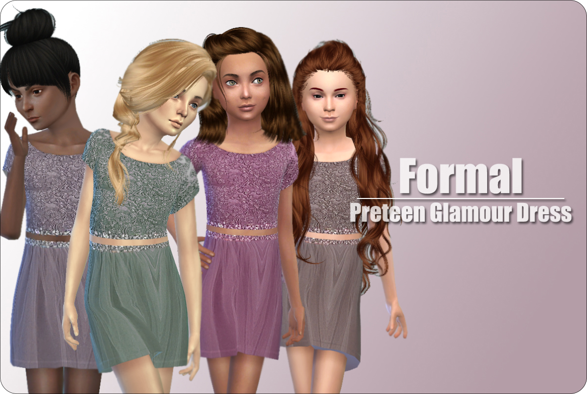 Formal Dress for Girls от xMisakix