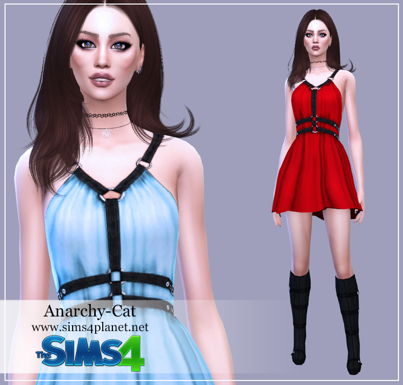 Sentate Abernathy Dress by Anarchy-Cat