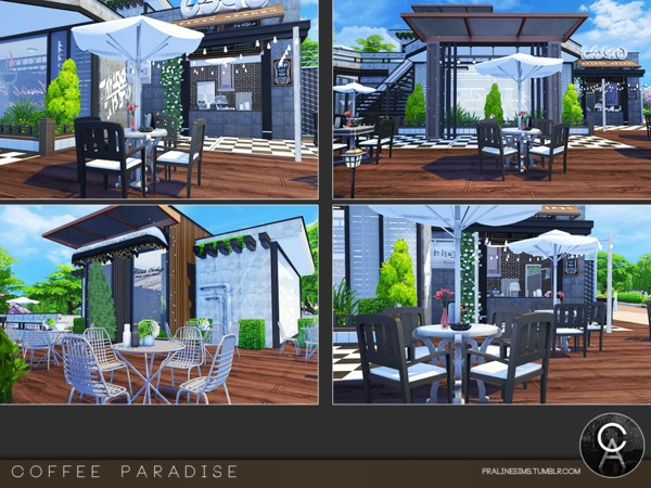 Coffee Paradise by Pralinesims