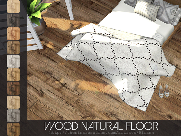 Wood Natural Floor by Rirann