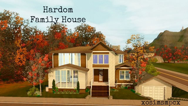 Hardom family home by xosimsmpcx