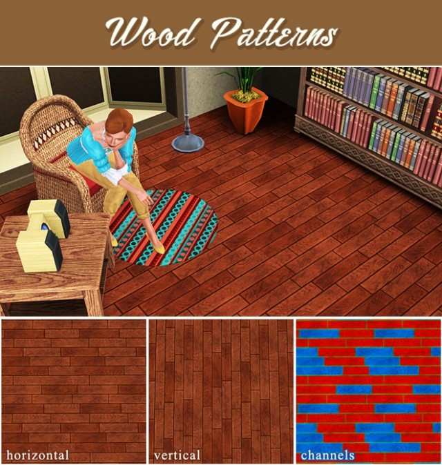 Wood Pattern by sweetdevil-sims