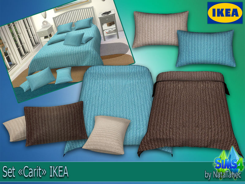 IKEA Blankets and Pillows by Natatanec