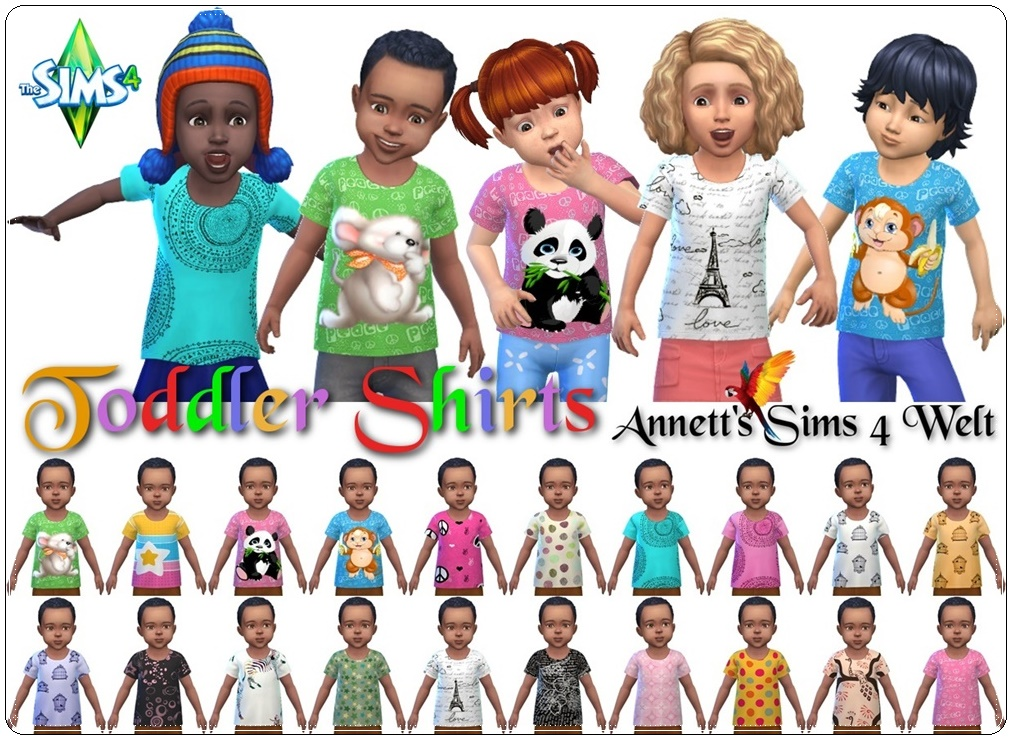 Shirts for Toddlers by Annett85