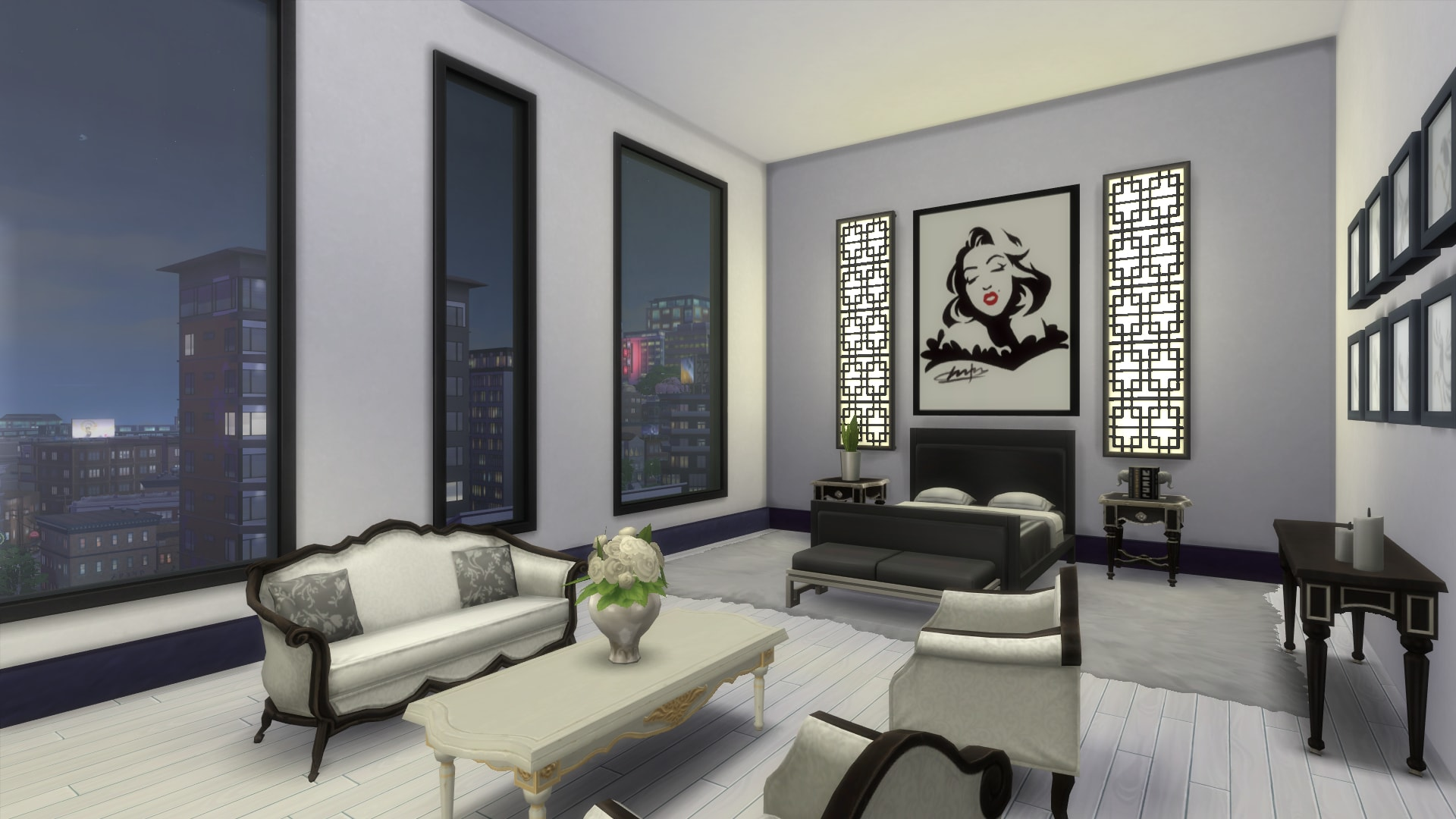 Old Hollywood Glamour Penthouse by valennealv