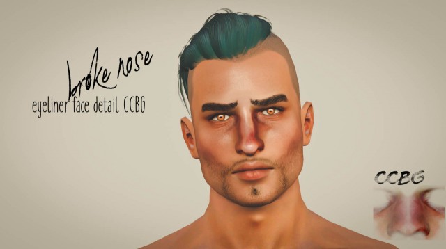 Broke nose CC DL by Gaiahypothesims