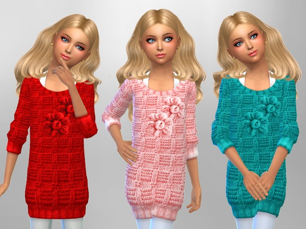 Girls Knit Jumpers by SweetDreamsZzzzz