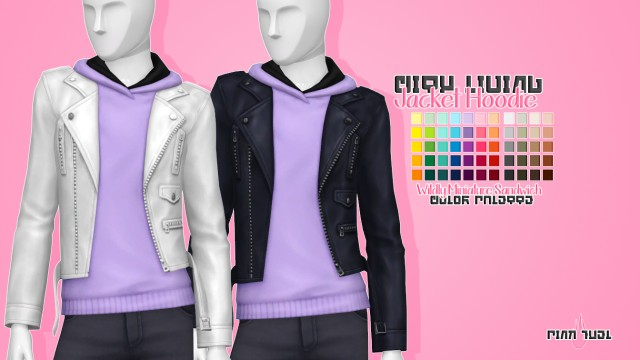 City Living Jacket Hoodie by PinkFuel