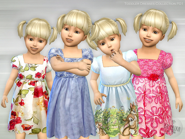 Toddler Dresses Collection P01 by lillka
