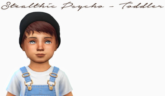 Stealthic Psycho - Toddler Version by simiracle