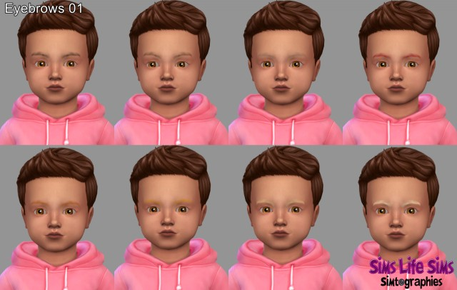 Eyebrows (For Toddlers) by simslifesims