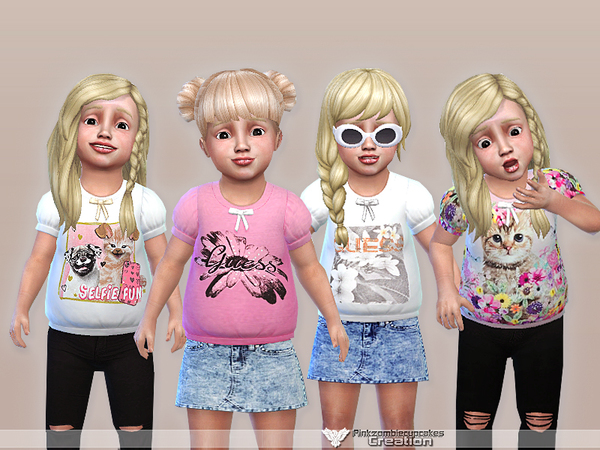 Sweet Fun Toddler Casual Collection by Pinkzombiecupcakes