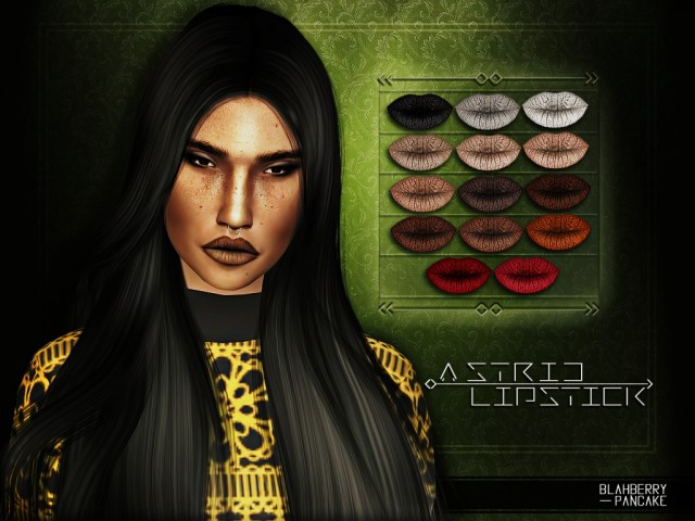 ASTRID LIPSTICK by Blahberry Pancake