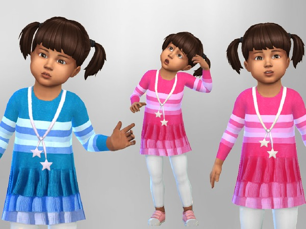 Toddler Dress Leggings Outfit by SweetDreamsZzzzz