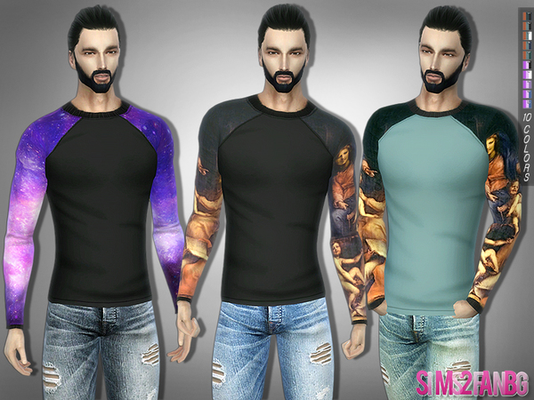 291 - Casual Sweatshirt by sims2fanbg