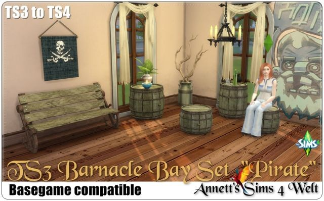 Barnacle Bay Set Pirate by Annett85