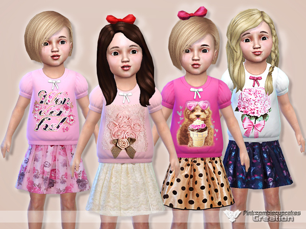 Precious Casual Collection for Toddler by Pinkzombiecupcakes