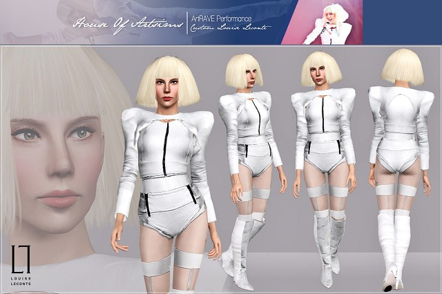 ArtRAVE Performance  Custom Louise Leconte by Artsims