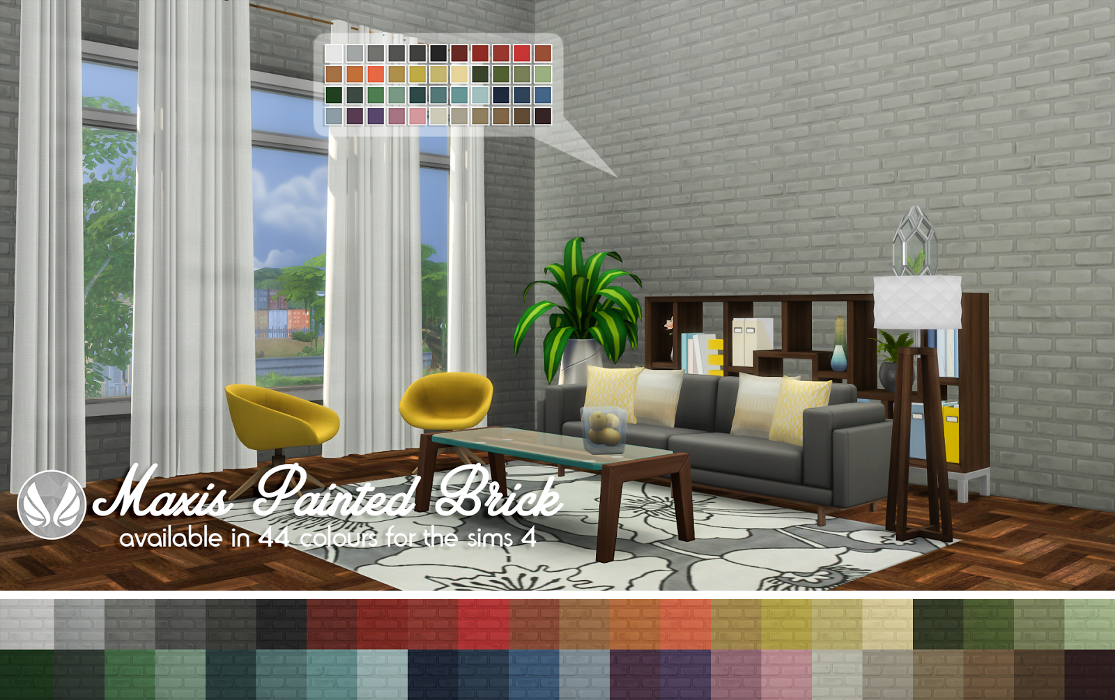 Maxis Painted Brick by Peacemaker IC