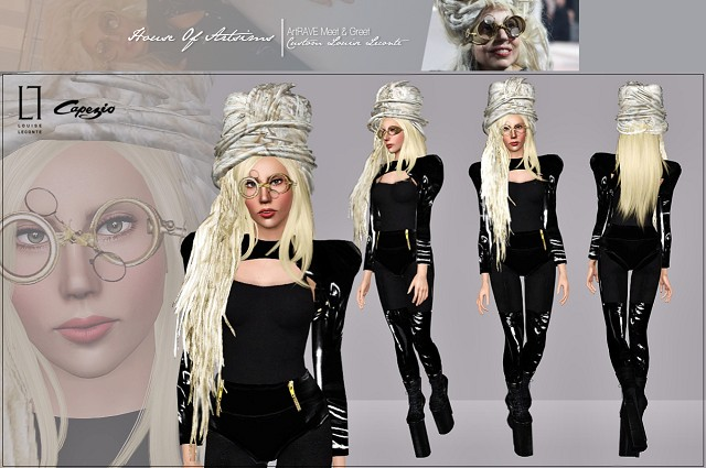 ArtRAVE Meet & Greet  Custom Louise Leconte by Artsims