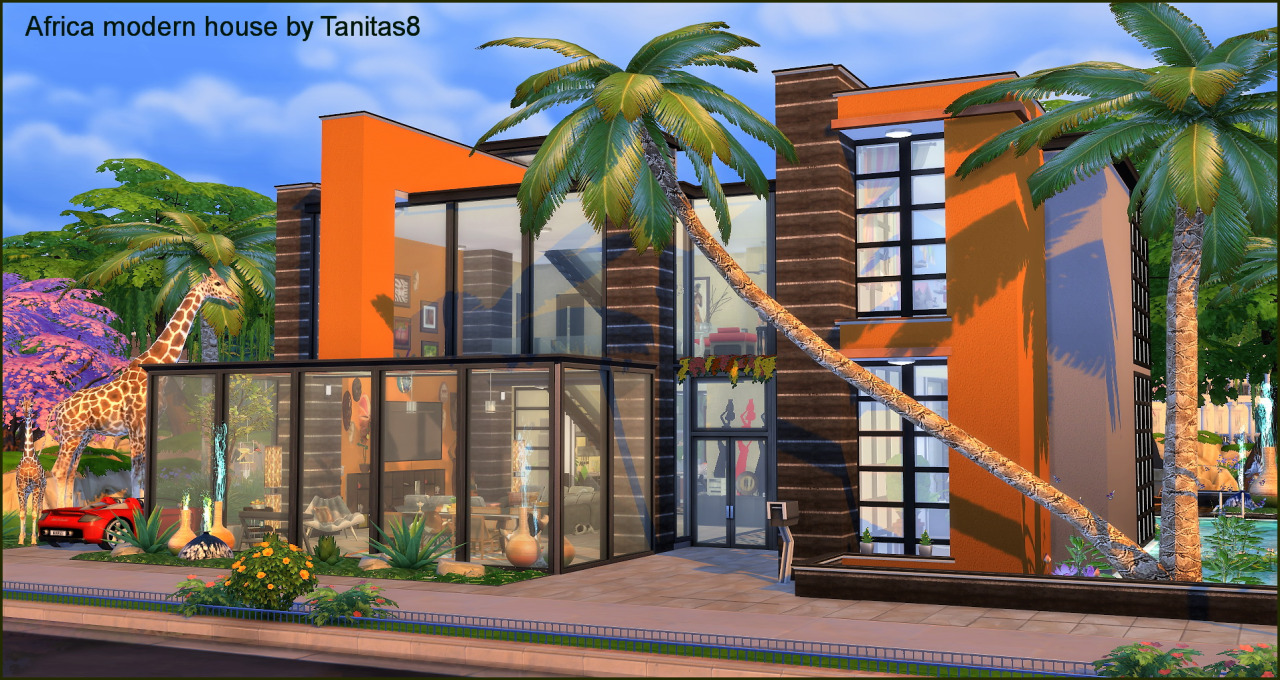 Africa Modern House by Tanitas8
