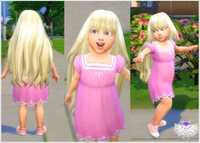 Princess Hair for Toddlers by David