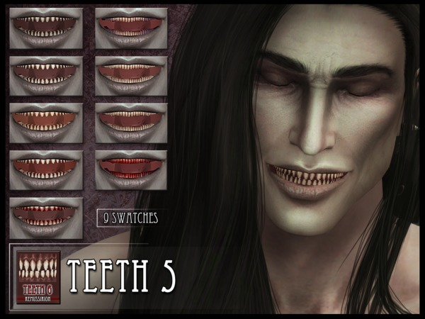 Monster Teeth 5 by RemusSirion