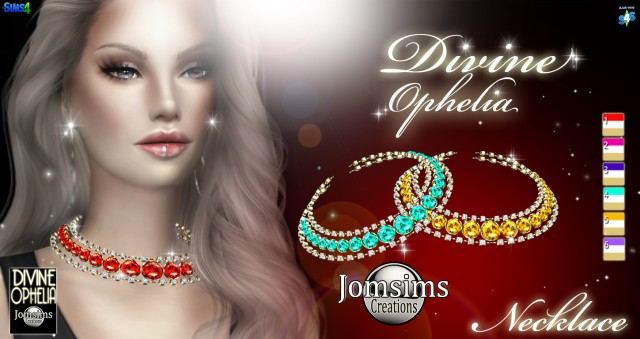 Divine Ophelia Necklace by JomSims