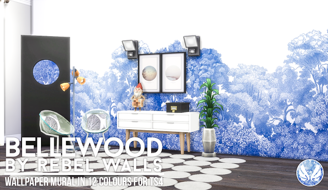 Bellewood - Mural for TS4 by Peacemaker IC
