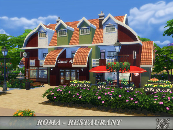 Roma - Restaurant by Danuta720