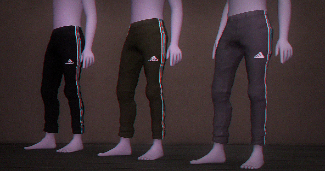 Adidas Sweatpants for Toddlers by Nanobobs