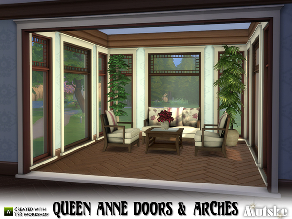 Queen Anne Doors and Arches by mutske