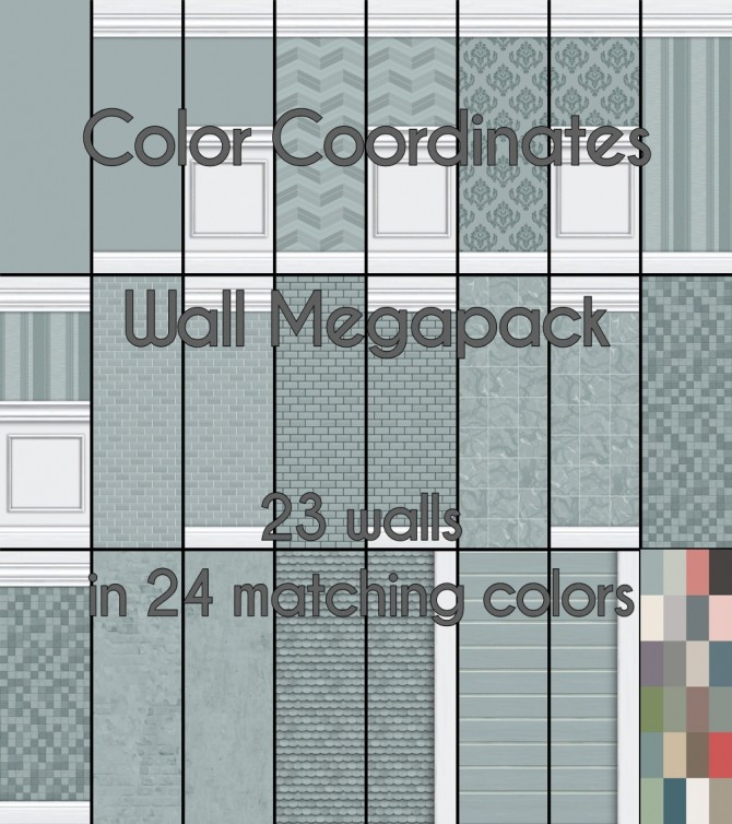 Coordinating Colors Part 1: Walls by Madhox