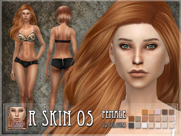 R skin 5 - FEMALE by RemusSirion