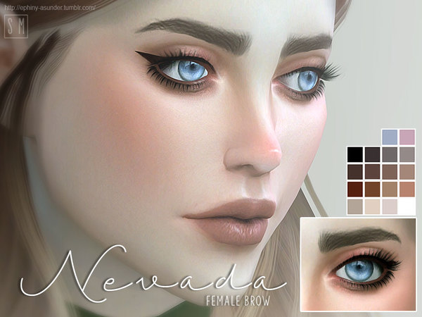 [ Nevada ] - Female Brows by Screaming Mustard