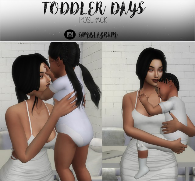 Toddler Days PosePack by GamPanda
