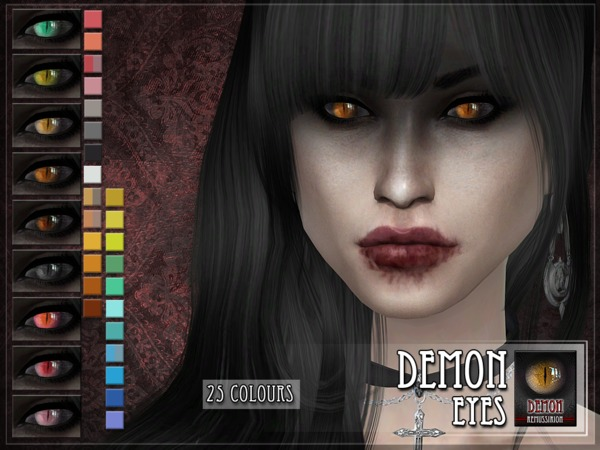 Demon Eyes by RemusSirion