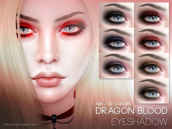 Dragon Blood Eyeshadow N45 by Pralinesims