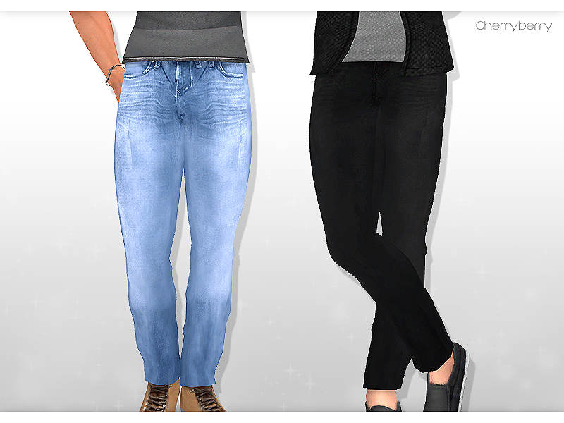 Skinny stretch jeans for men by cherryberrysims