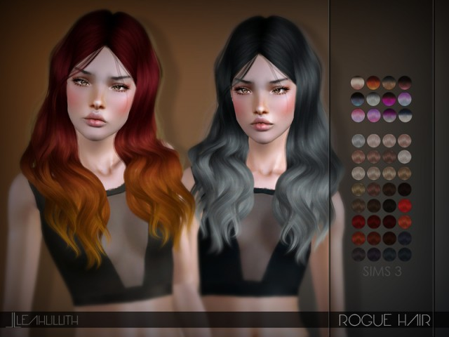 Rogue Hair by LeahLillith